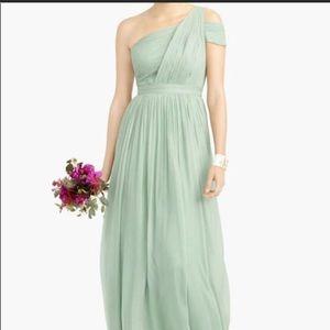 JCrew bridesmaid dress. Worn once. Size 4
